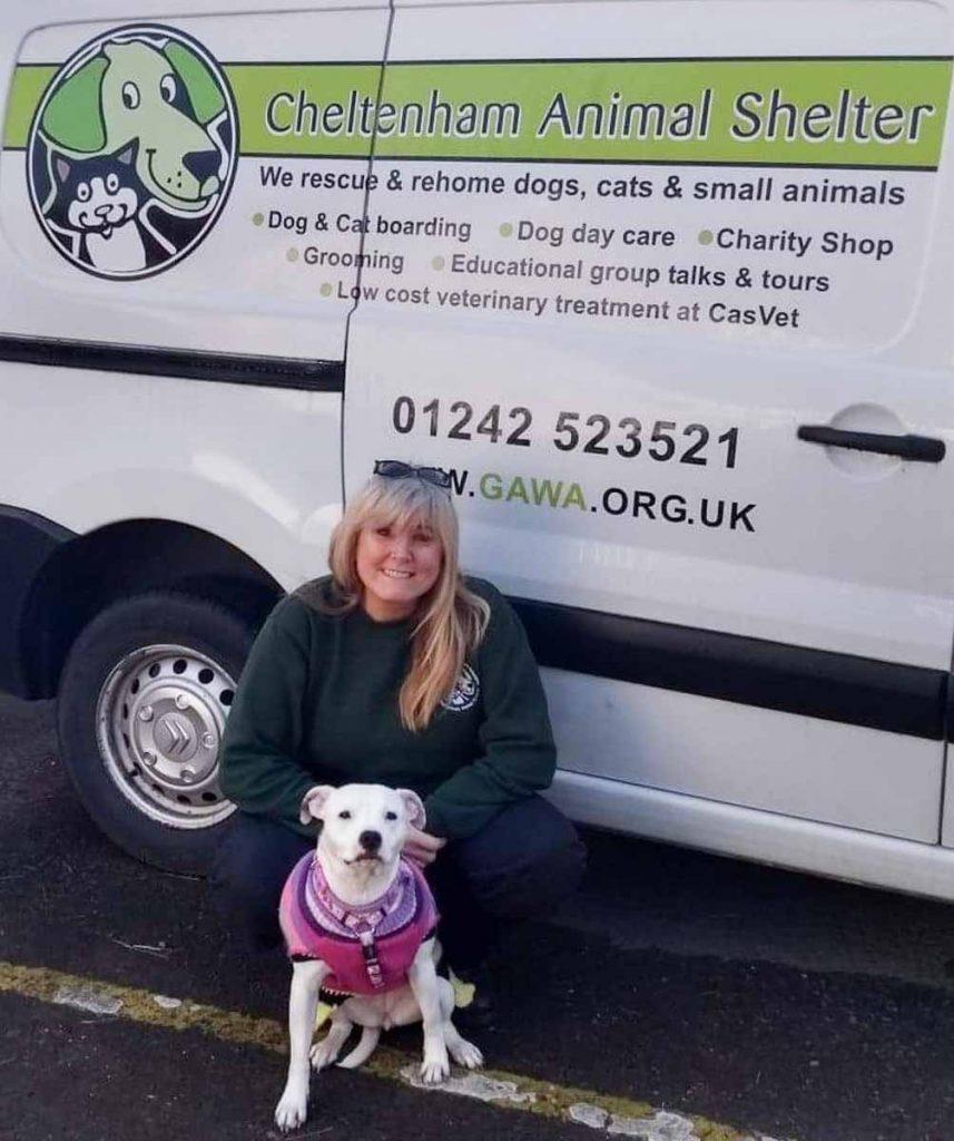 Karen and Pearl - Cheltenham Animal Shelter
