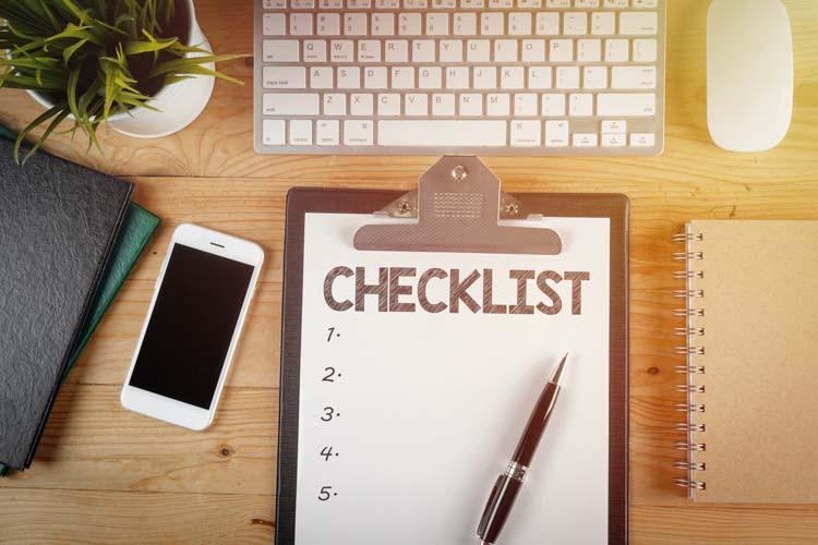 Essential Will Checklist